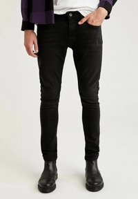 DeFacto - Jeans Skinny Fit - black - 0