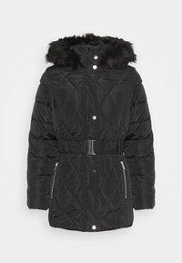 Dorothy Perkins - SHORT LUXE - Winter coat - black - 4