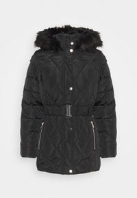 SHORT LUXE - Winter coat - black