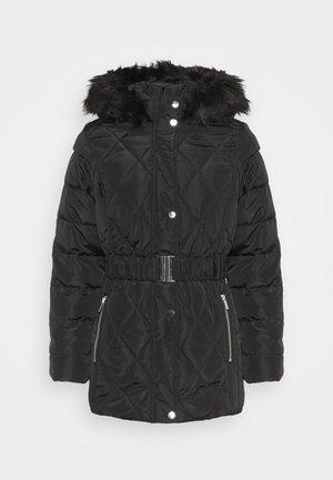 SHORT LUXE - Płaszcz zimowy - black