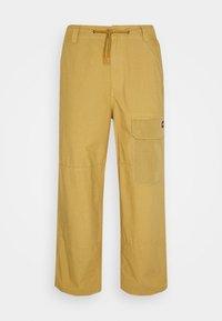 GLYNDON PANT - Cargo trousers - dark khaki