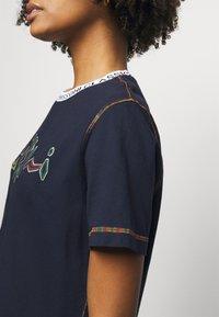 M Missoni - Print T-shirt - dark blue - 4