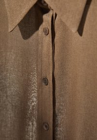 Massimo Dutti - Button-down blouse - brown - 6