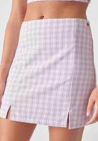 PULL&BEAR - A-line skirt - mauve - 3