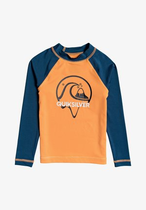 BUBBLE DREAMS - Rash vest - orange