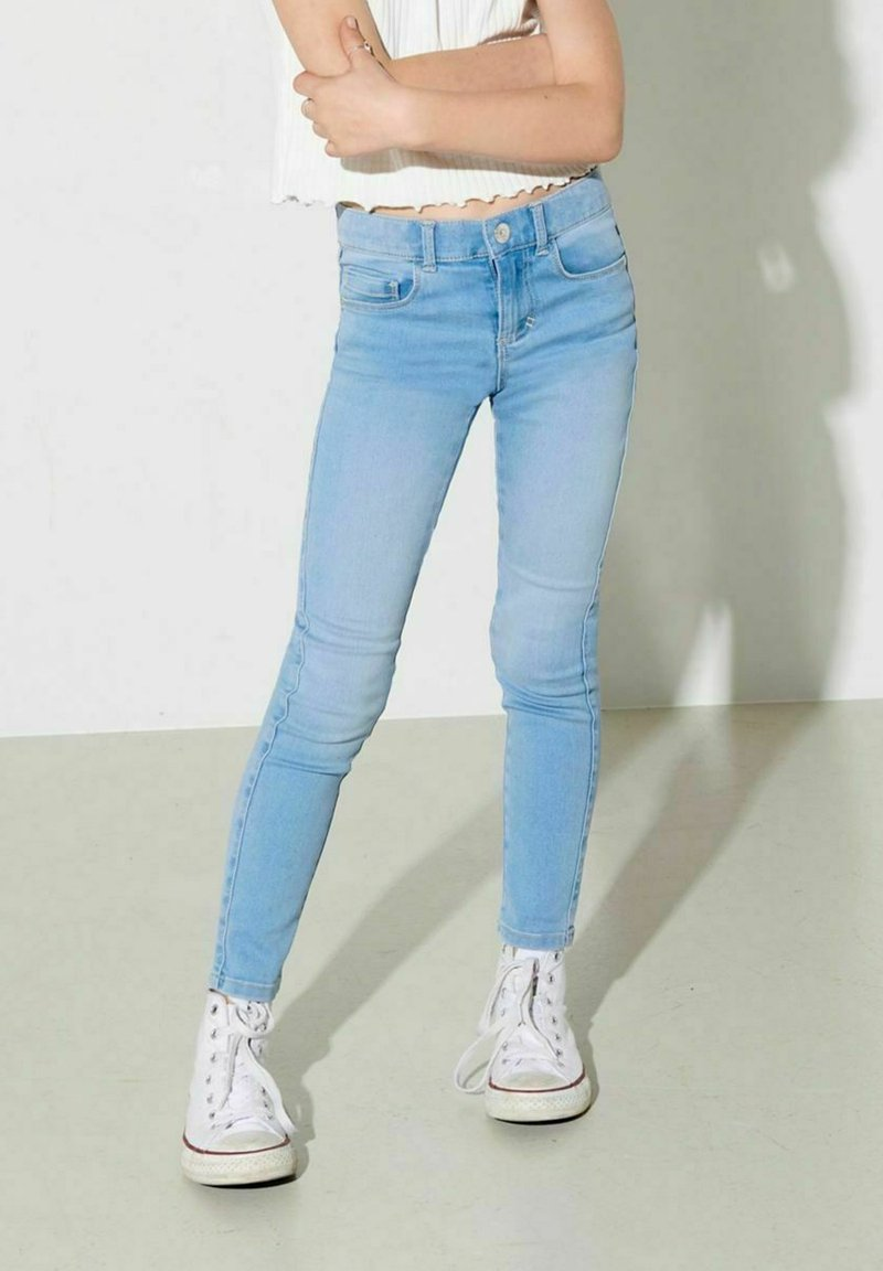 Kids ONLY - Jeans Skinny Fit - light blue denim