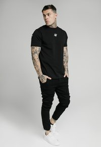 SIKSILK - CUFFED - Jeans Skinny Fit - black - 1