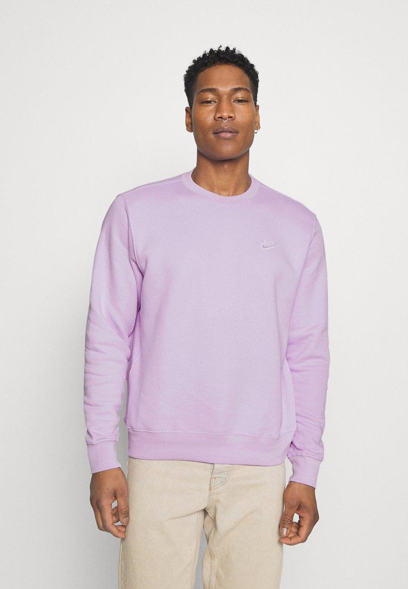 Nike Sportswear - CLUB CREW - Felpa - violet frost