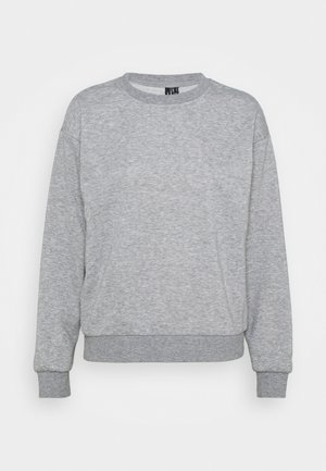 VMNATALIA  OVERSIZED  - Sweatshirt - light grey melange/bright