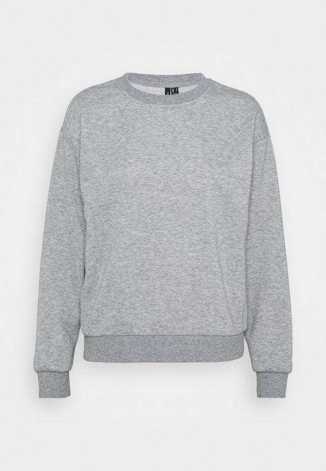 VMNATALIA  OVERSIZED  - Mikina - light grey melange/bright