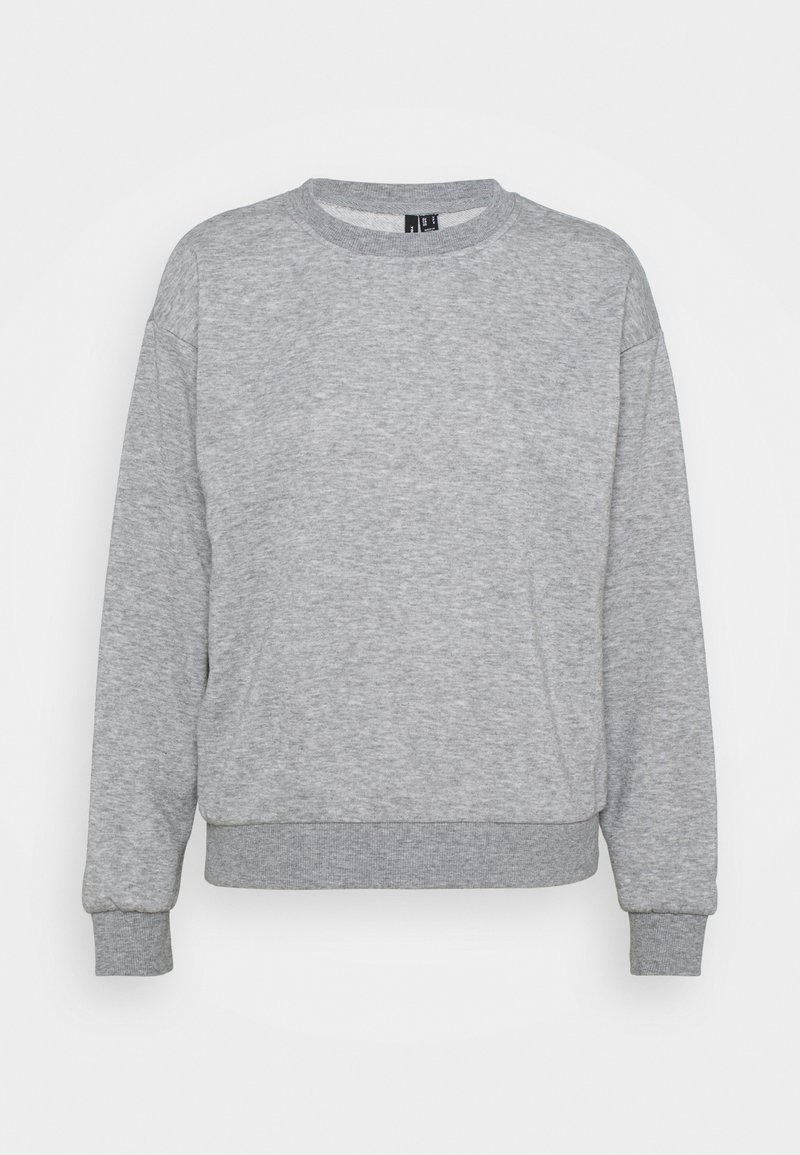 Vero Moda - VMNATALIA  OVERSIZED  - Sweatshirt - light grey melange/bright