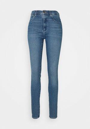HIGH RISE BODY BESPOKE - Skinny džíny - blue denim