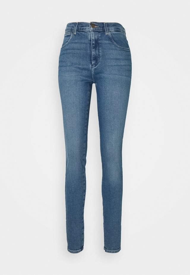HIGH RISE BODY BESPOKE - Jeans Skinny Fit - blue denim