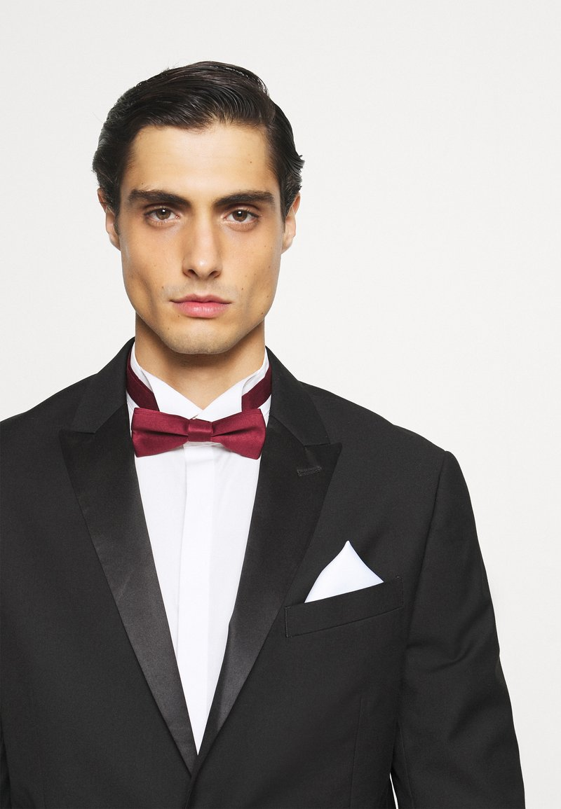 Only & Sons - ONSTED BOW TIE SET - Fazzoletti da taschino - merlot