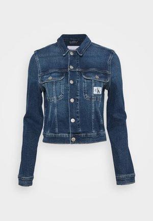 CROPPED 90S JACKET - Denim jacket - denim dark