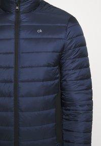 Calvin Klein - LIGHT WEIGHT SIDE LOGO JACKET - Light jacket - blue - 7