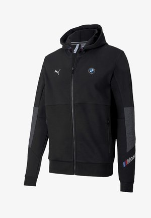 BMW MOTORSPORT  - Zip-up hoodie -  black