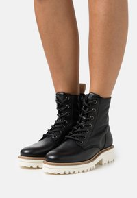 Marc O'Polo - LICIA  - Lace-up ankle boots - black - 0