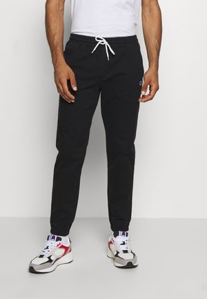 ROCHESTER CUFF PANTS - Trousers - black