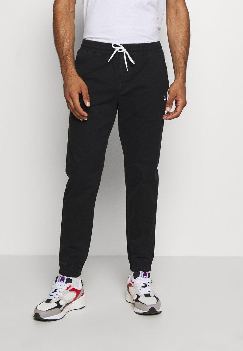 Champion - ROCHESTER CUFF PANTS - Kalhoty - black