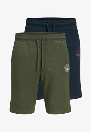 2 PACK - Shorts - olive night