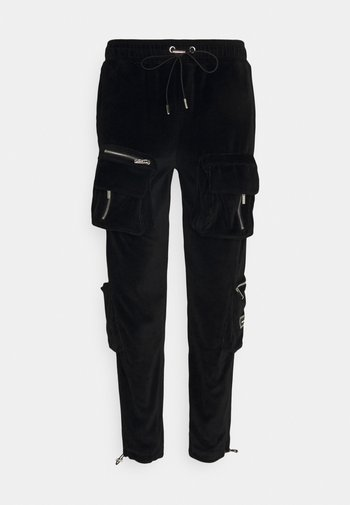 RUCHED CUFFED PANT WITH 3D ZIP DETAIL POCKETS