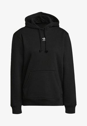 ORIGINALS ADICOLOR SWEATSHIRT HOODIE - Džemperis su gobtuvu - black