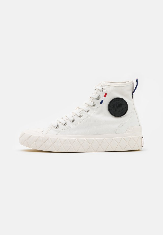 PALLA ACE MID UNISEX - Baskets montantes - star white