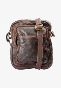 MONTANA - Across body bag - brown - 0