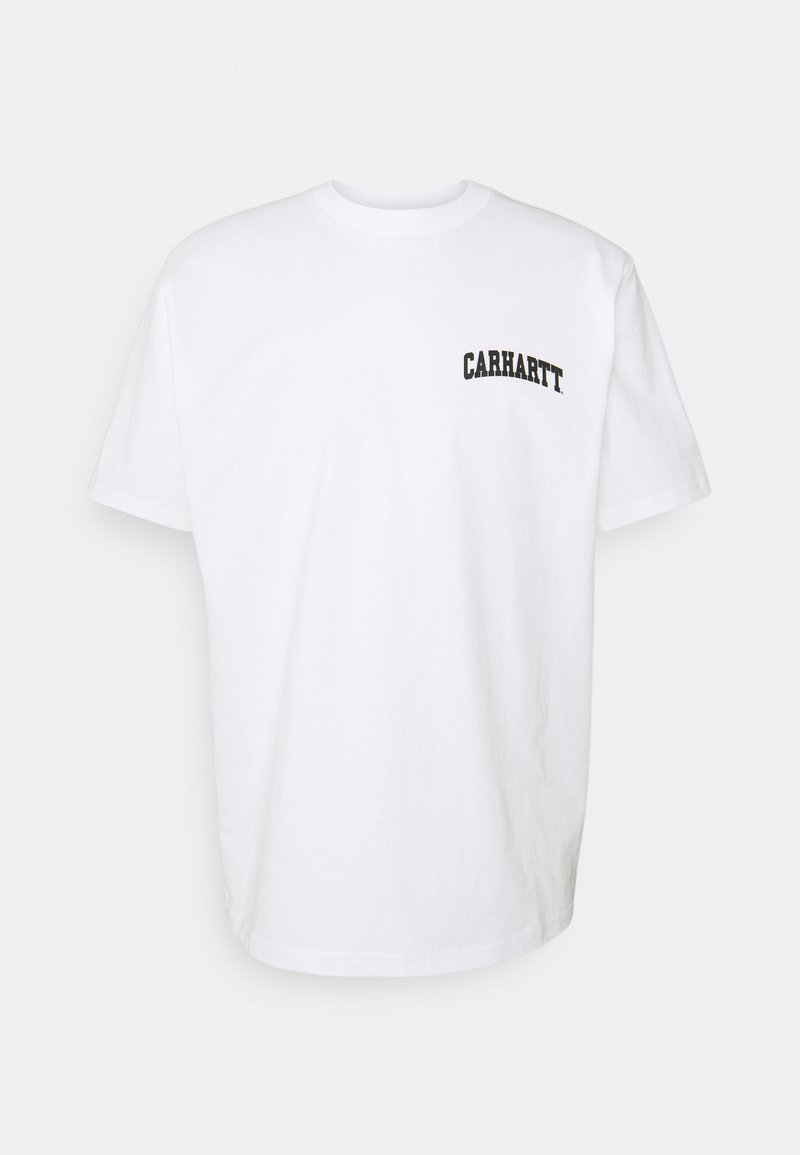 Carhartt WIP - UNIVERSITY SCRIPT - Print T-shirt - white/black