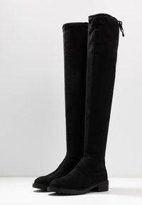 New Look - BOMBAY  - Cuissardes - black - 4