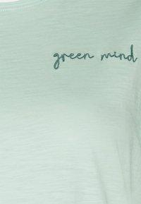 MY TRUE ME TOM TAILOR - FRONT ARTWORK - Print T-shirt - pale mint - 2