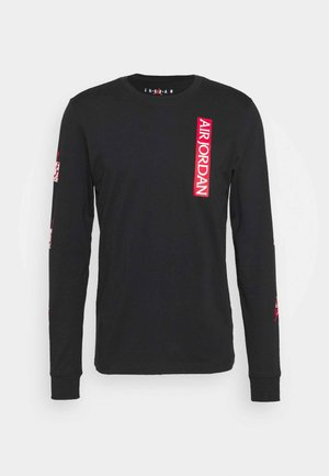 CLASSICS CREW - Long sleeved top - black/red/white