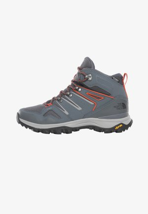 M HEDGEHOG FASTPACK II MID WP (EU) - Hiking shoes - asphalt grey/flare