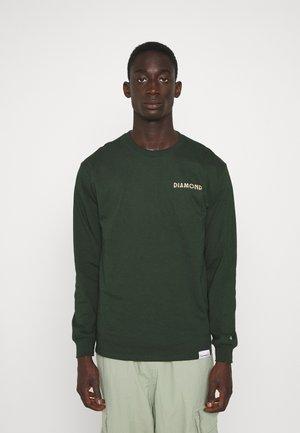 GLOSS TEE - Bluzka z długim rękawem - forest green
