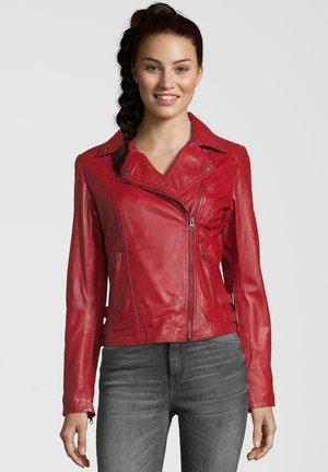 FAME - Veste en cuir - red