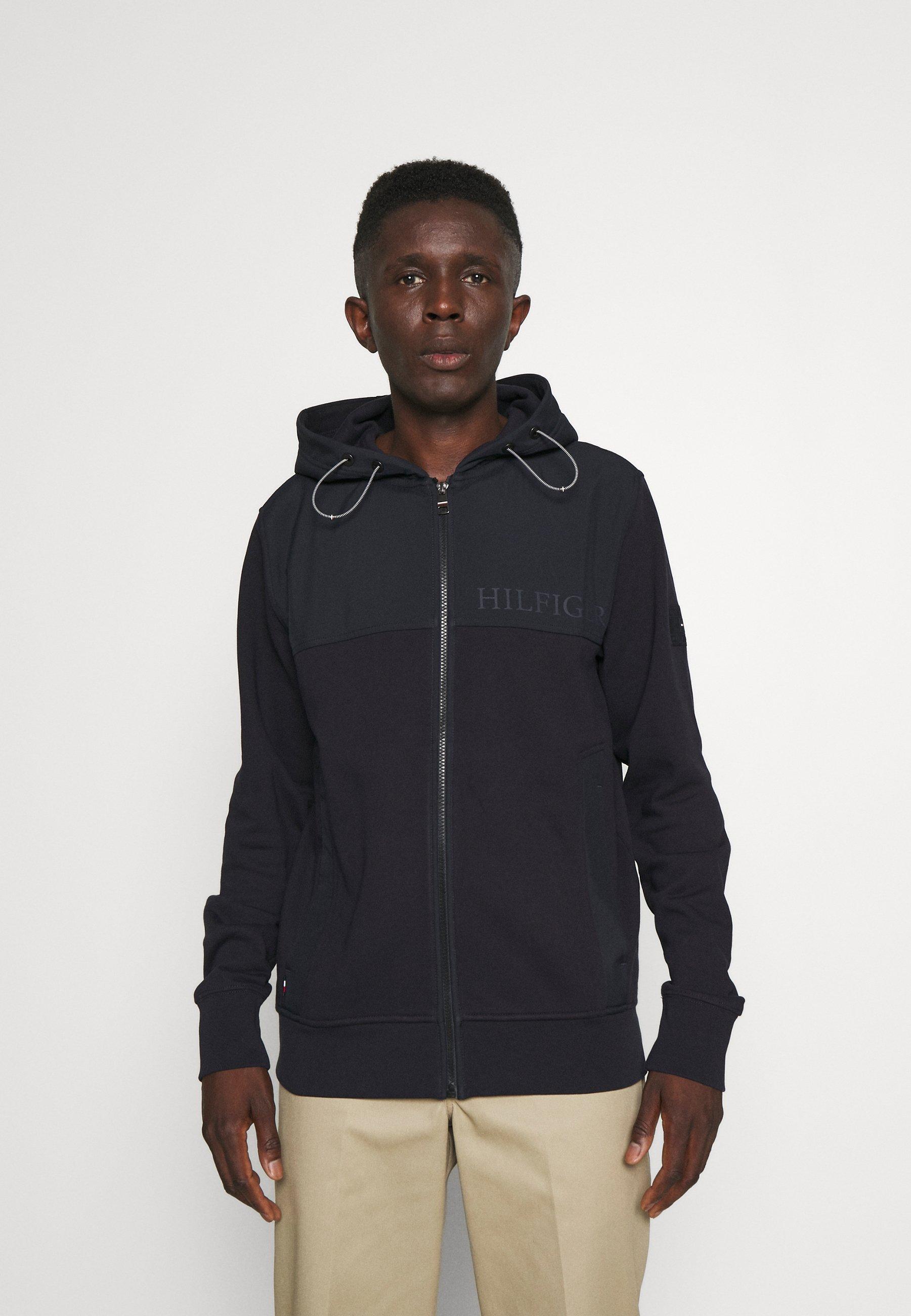 Men UTILITY MEDIA ZIP THRU - Zip-up sweatshirt