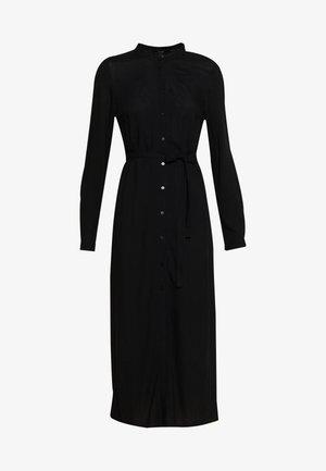 VMSIMPLY EASY LONG DRESS - Shirt dress - black