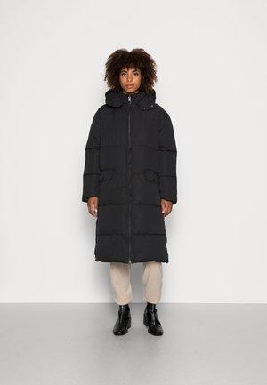 ELISHA RECYCLED COAT - Zimní kabát - black