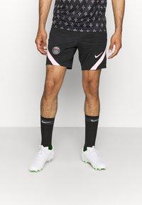Nike Performance - PARIS ST GERMAIN SHORT AWAY - Club wear - black/arctic punch - 0