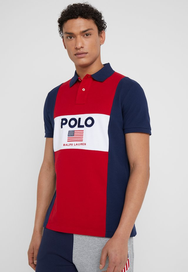 BASIC  - Polo - sport red