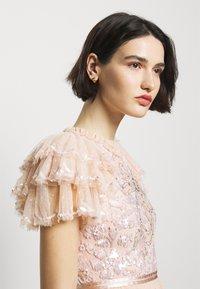 Needle & Thread - SHIRLEY RIBBON BODICE DRESS - Iltapuku - pink encore - 3