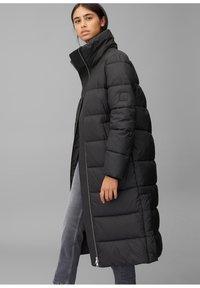 Marc O'Polo DENIM - LONG PUFFER COAT - Winter jacket - black - 2