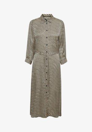 FABRINA - Robe longue - stripe print, black