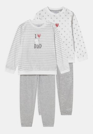 2 PACK UNISEX - Pyjama - brilliant white