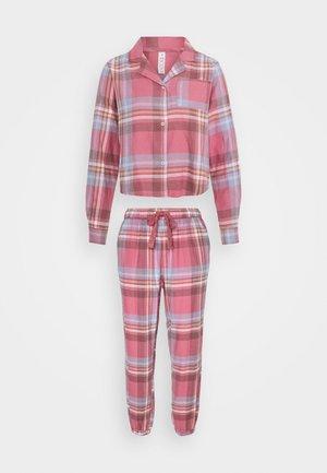 SLEEP PANT SET - Pyjama set - washed rose