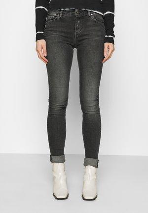 SLIGHT - Skinny džíny - black