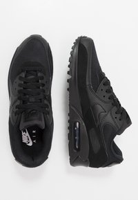 Nike Sportswear - AIR MAX 90 - Matalavartiset tennarit - black