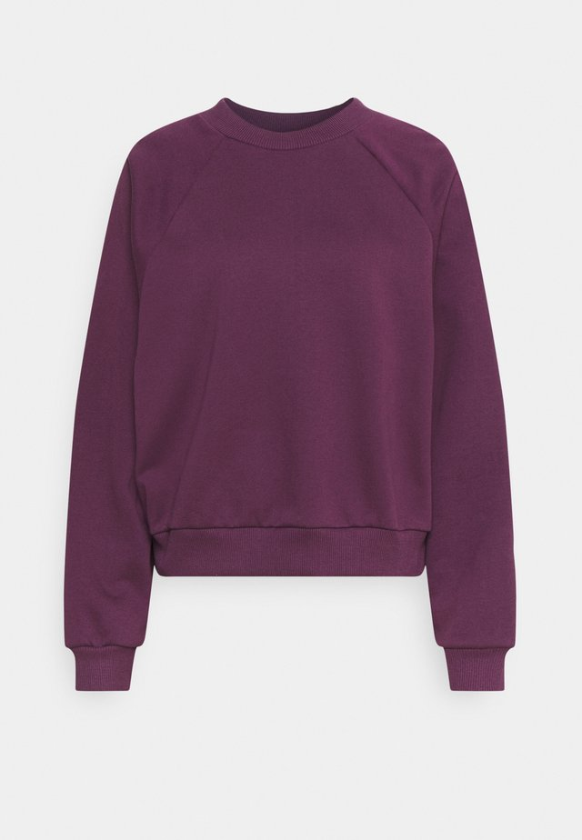 HELLA OVERSIZE - Sweatshirt - purple