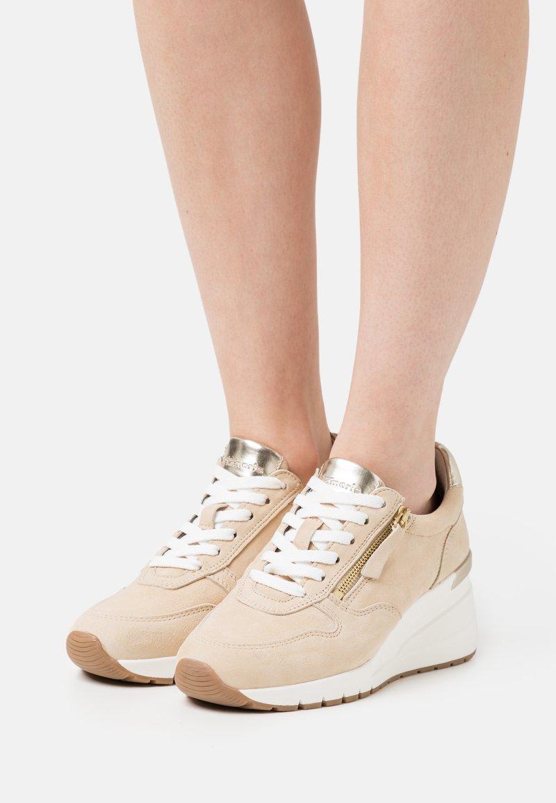 Tamaris - Sneakers laag - beige